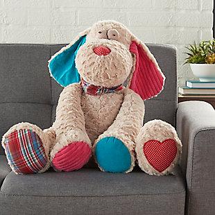 Kids Plush Puppy Dog Animal Pillow, , large