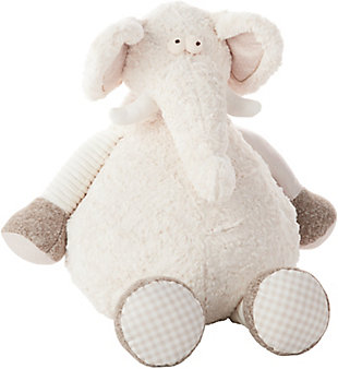 Kids Plush Elephant Animal Pillow, , rollover