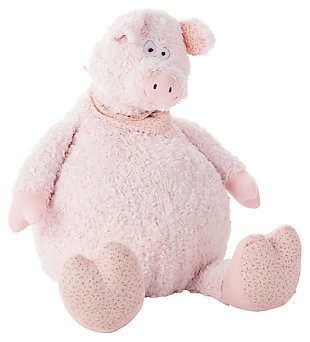Kids Plush Pig Animal Pillow, , large