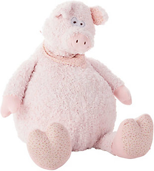 Kids Plush Pig Animal Pillow, , rollover