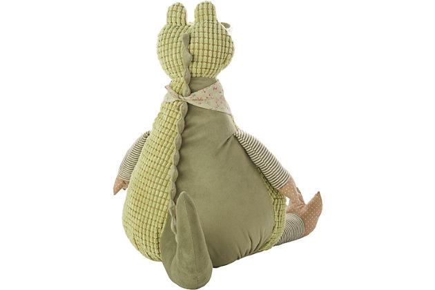 Kids Plush Crocodile Animal Pillow, , large