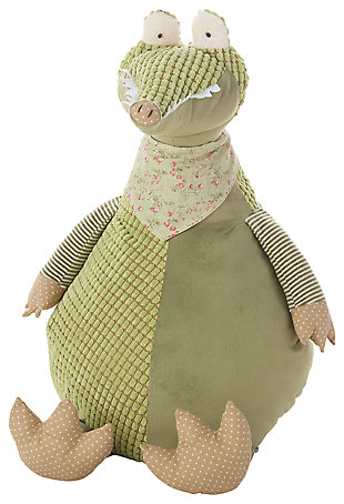 Kids Plush Crocodile Animal Pillow, , large