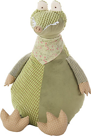 Kids Plush Crocodile Animal Pillow, , rollover