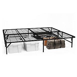 Metal King Foundation Platform, Black, large