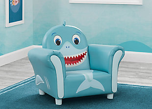 Delta Children Cozy Shark Chair, , rollover