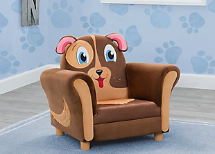 Delta Children Cozy Puppy Chair, , rollover