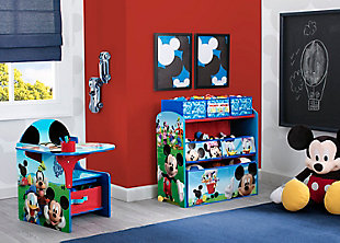 Delta Children Disney Mickey Mouse Multi-Bin Toy Organizer, , rollover