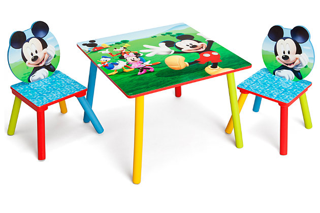Delta Children Disney Mickey Mouse Table and Chair Set, , large