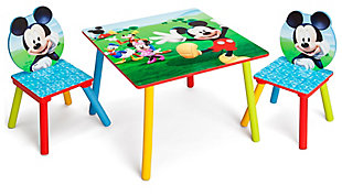 Delta Children Disney Mickey Mouse Table And Chair Set, , rollover