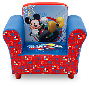 Delta Children Disney Mickey Mouse Upholstered Chair, , rollover