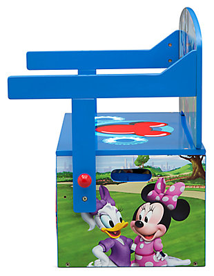 Delta Children Disney Mickey Mouse Kids Activity Bench, , large