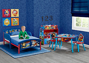 Delta Children Nick Jr. PAW Patrol Plastic Toddler Bed, , rollover