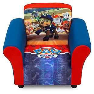 Delta Children Nick Jr. Paw Patrol Upholstered Chair, , rollover