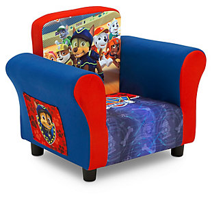 Delta Children Nick Jr. Paw Patrol Upholstered Chair, , large