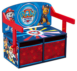 Delta Children Nick Jr. PAW Patrol Kids Activity Bench, , large