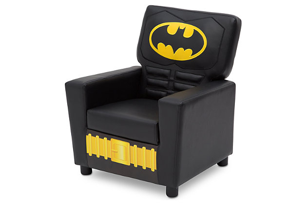 Delta Children DC Comics Batman High Back Upholstered Chair, , large