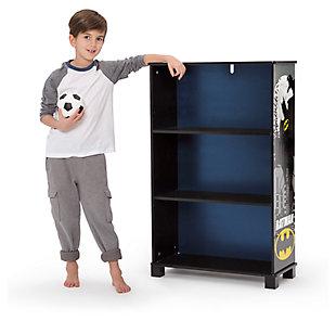 Delta Children DC Comics Batman Deluxe 3 Shelf Bookcase, , large