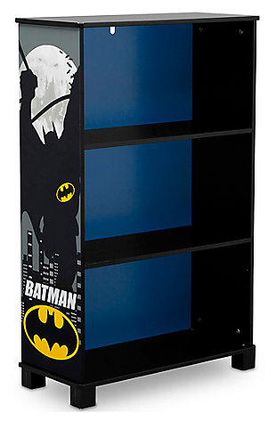 Delta Children DC Comics Batman Deluxe 3 Shelf Bookcase, , large