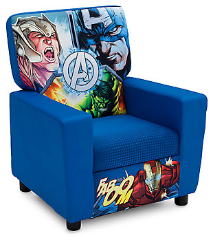Delta Children Marvel Avengers High Back Upholstered Chair, , large