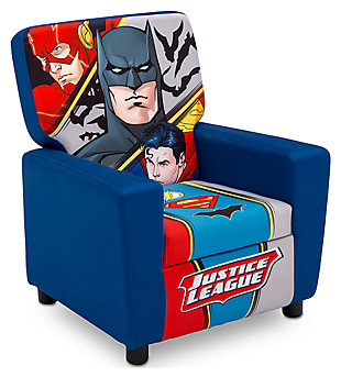 Delta Children DC Comics Justice League High Back Upholstered Chair, , large