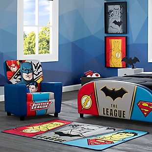 Delta Children DC Comics Justice League Soft Area Rug with Non Slip Backing, , rollover