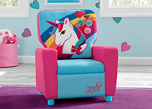 Delta Children JoJo Siwa High Back Upholstered Chair, , large