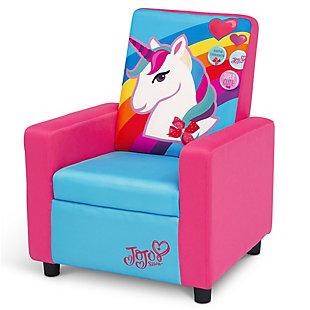Delta Children Jojo Siwa High Back Upholstered Chair, , large