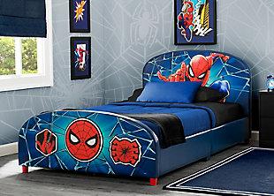 Delta Children Marvel Spider-man Upholstered Twin Bed, , rollover