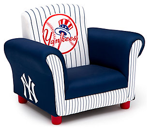 Delta Children MLB New York Yankees Kids Upholstered Chair, , large