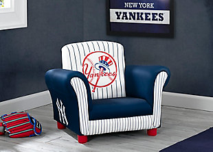 Delta Children MLB New York Yankees Kids Upholstered Chair, , rollover