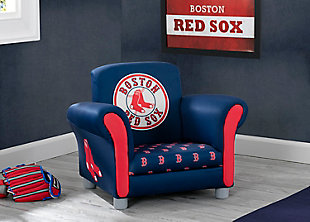 Delta Children MLB Boston Red Sox Kids Upholstered Chair, , rollover