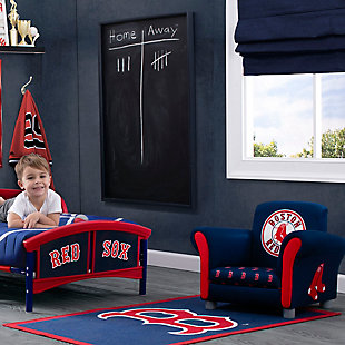 Delta Children MLB Boston Red Sox Soft Area Rug, , large