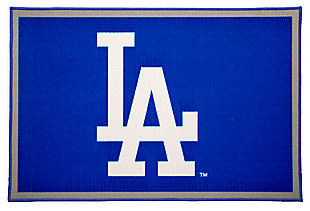Delta Children MLB Los Angeles Dodgers Soft Area Rug, , large