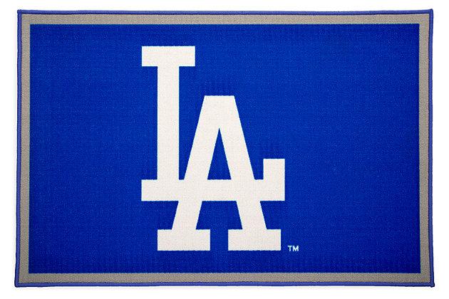 Delta Children MLB Los Angeles Dodgers Soft Area Rug, , large