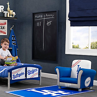 Delta Children MLB Los Angeles Dodgers Soft Area Rug, , rollover