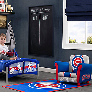 Delta Children MLB Chicago Cubs Soft Area Rug, , rollover