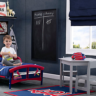 Delta Children MLB St. Louis Cardinals Soft Area Rug, , rollover