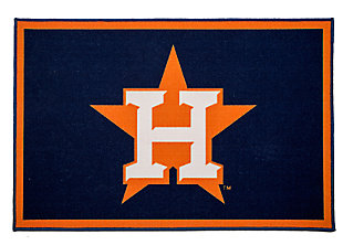 Delta Children MLB Houston Astros Soft Area Rug, , large