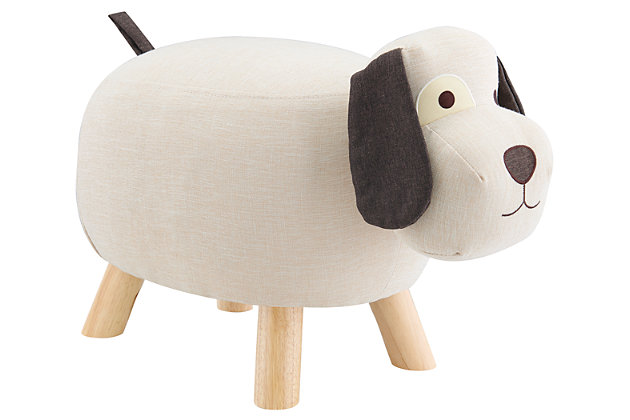 Kids Cooper Dog Stool, , large