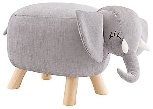 Kids Ella Elephant Stool, , large