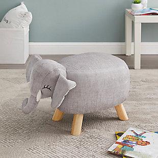 Kids Ella Elephant Stool, , rollover