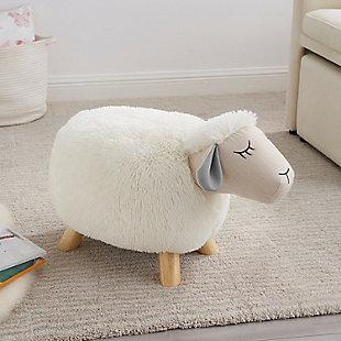 Kids Sadie Sheep Stool, , rollover