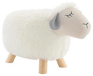 Kids Sadie Sheep Stool, , large