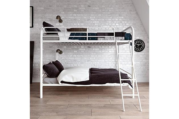 Kids Twin Over Twin Metal Bunk Bed Ashley Furniture Homestore
