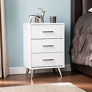 Three Drawer Nightstand, , rollover