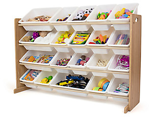 Kids Journey Extra Large Toy Storage Organizer with 20 Bins, , large