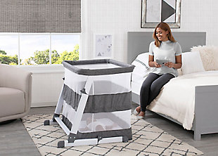 Simmons Kids Room2Grow Newborn Bassinet to Infant Sleeper, , rollover