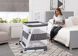 Simmons Kids Room2Grow Newborn Bassinet to Infant Sleeper, , large
