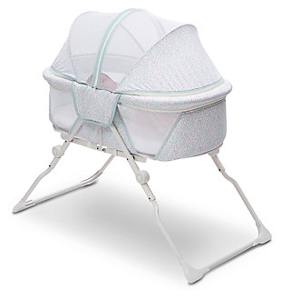 Delta Children EZ Fold Ultra Compact Travel Bassinet, , large