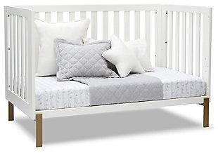 Delta Children Hendrix 4-in-1 Convertible Crib with Under Crib Storage, , large